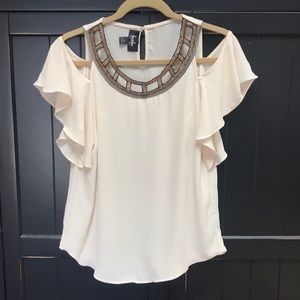 By&By Beaded Top XS